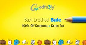 100% Off CUSTOMS + Customs added sales tax