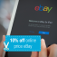 10% Off the Online Price on Ebay Orders